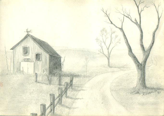 Drawing Ideas Wallpapers Landscape Drawings In Pencil Related